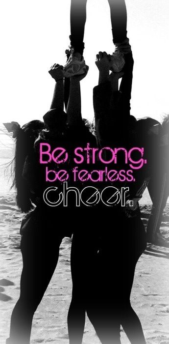 Work Out Like a Professional Cheerleader #cheerquotes