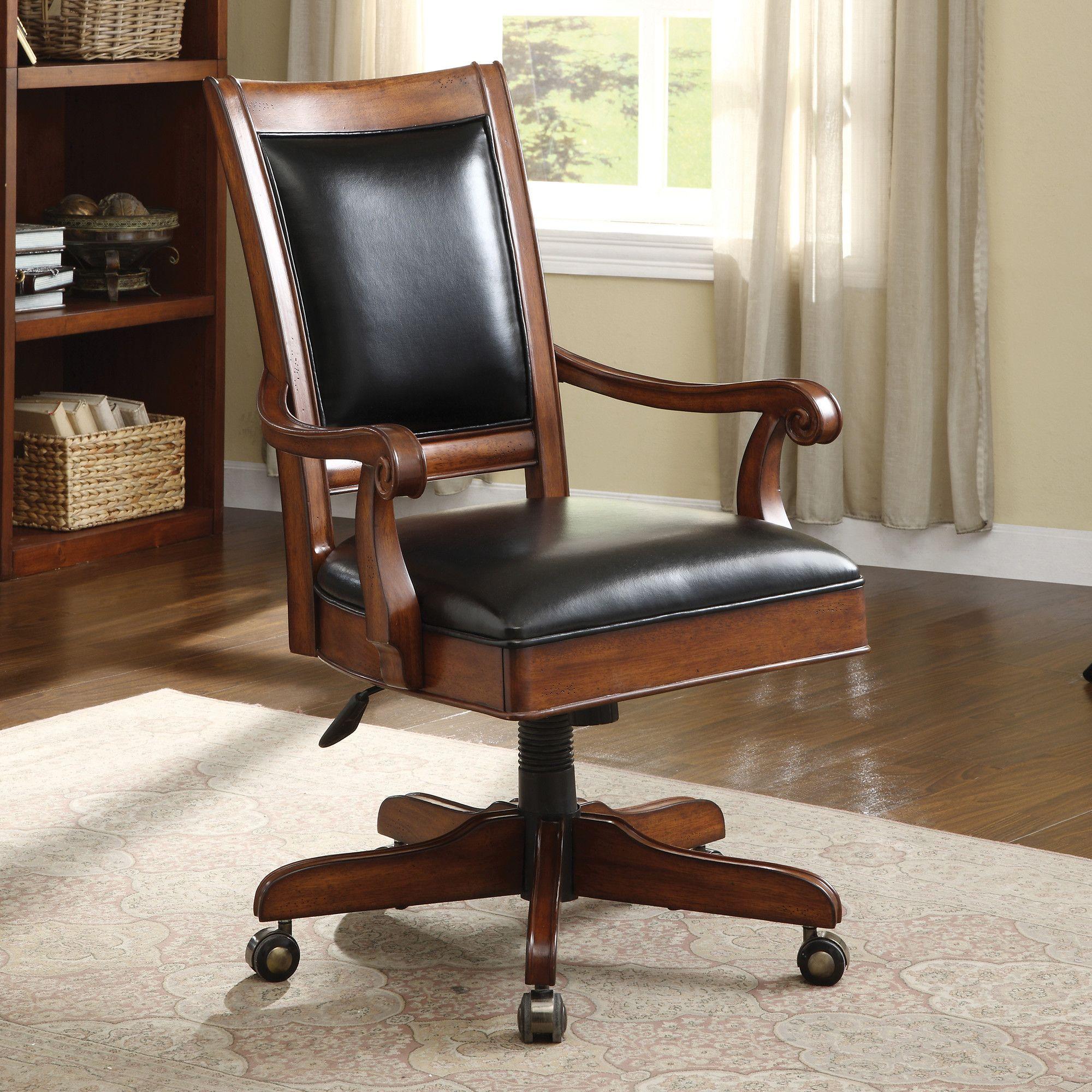 Cantata executive highback desk chair with arm wayfair