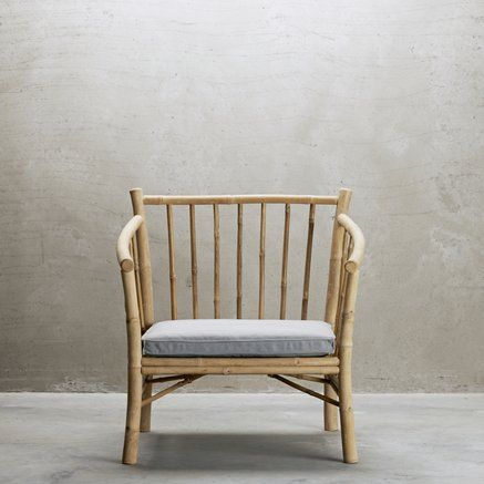 Sessel aus Bambus. Tine K. Home