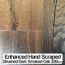 Hand Sed Brushed Dark Smoked Oak Tuscan Engineered Flooring Http Www Flooringvillage