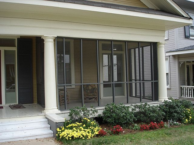 Screened In Front Porch With Images