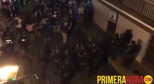 [VIDEOS] Pelea detonó tiroteo en la SanSe | Fuerza de choque...