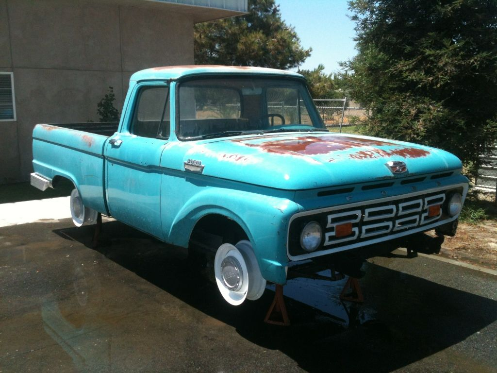 64 Ford Truck Bed Slick 60 S View Topic 1964 F100 Shortbed