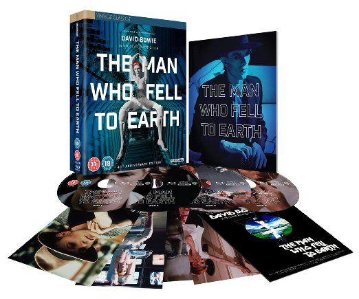 The Man Who Fell To Earth 40th Anniversary Collector's Edition Blu-ray 2016…