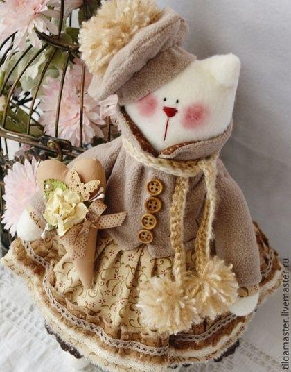 Кошечка Маккиато. Handmade.