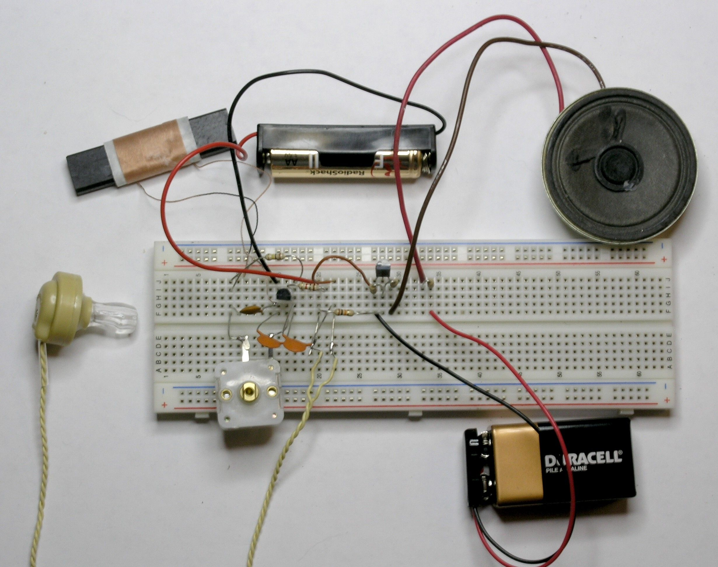 Chapter 10: Computers and Electronics -- Build a simple 1 watt audio ...