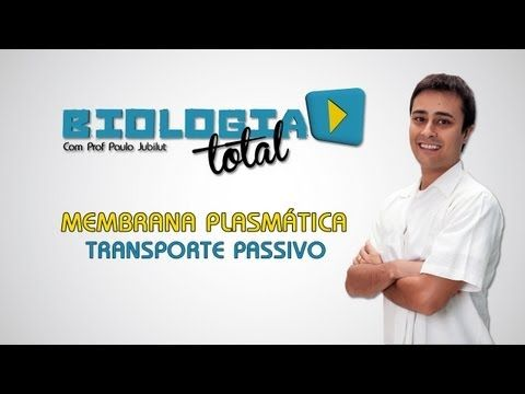 Membrana Plasmática - Transporte Passivo - Prof. Paulo Jubilut - YouTube