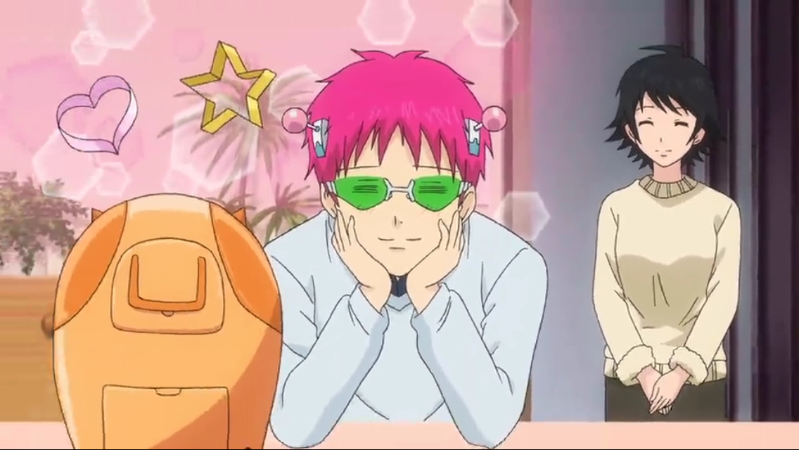 And here we have a very cute rare picture of Saiki smiling, Doesn't it just warm your heart ☺️ | Saiki, Anime, Haikyuu anime