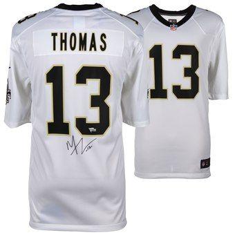 d44139e15 Autographed New Orleans Saints Michael Thomas Fanatics Authentic White Nike  Game Jersey  NFLstuff  NFL