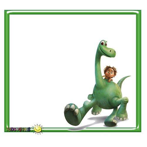 Stickers Un Gran Dinosaurio Cumpleaños De Dinosaurio