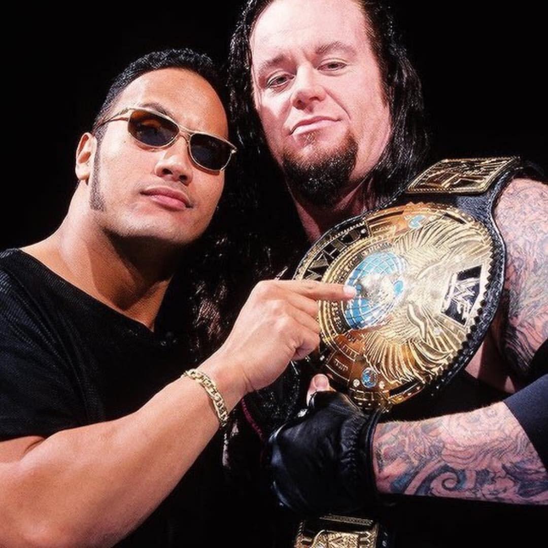 The Rock The Undertaker Therock Dwaynejohnson