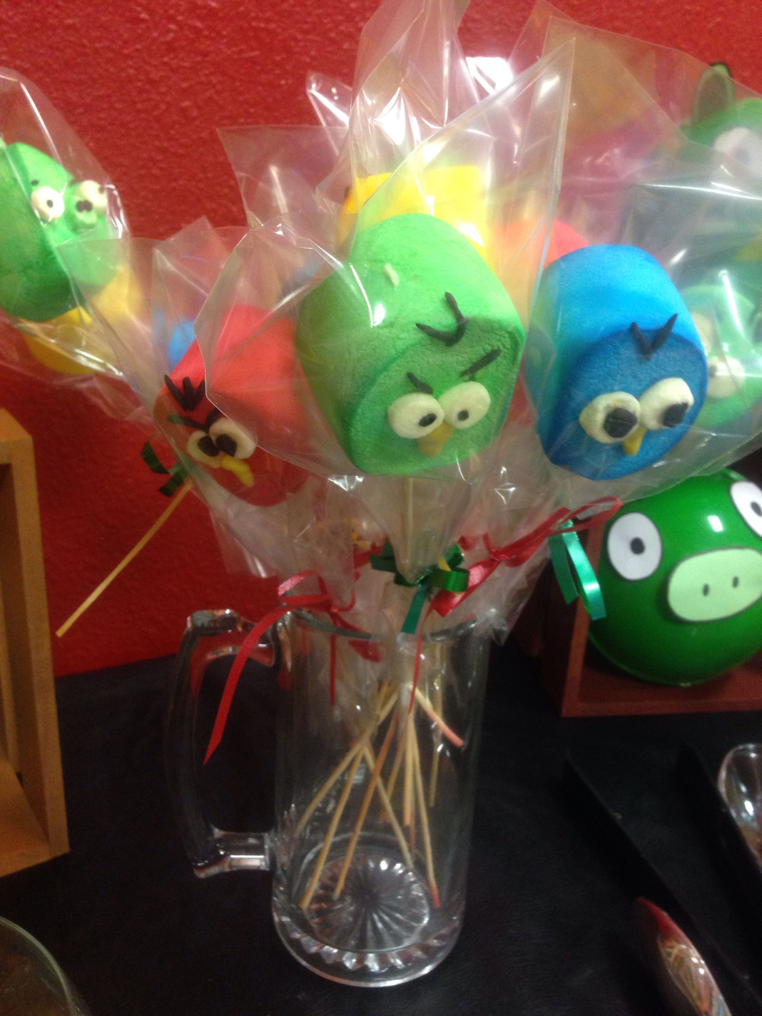 Angry Birds Star Wars Marshmallow Pops