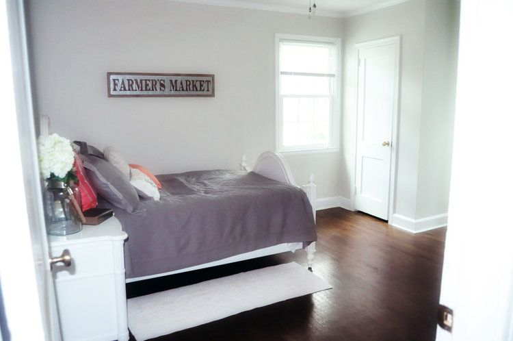 Bedroom In Valspar Tea Stain Green Stains Paint Colors Bedrooms