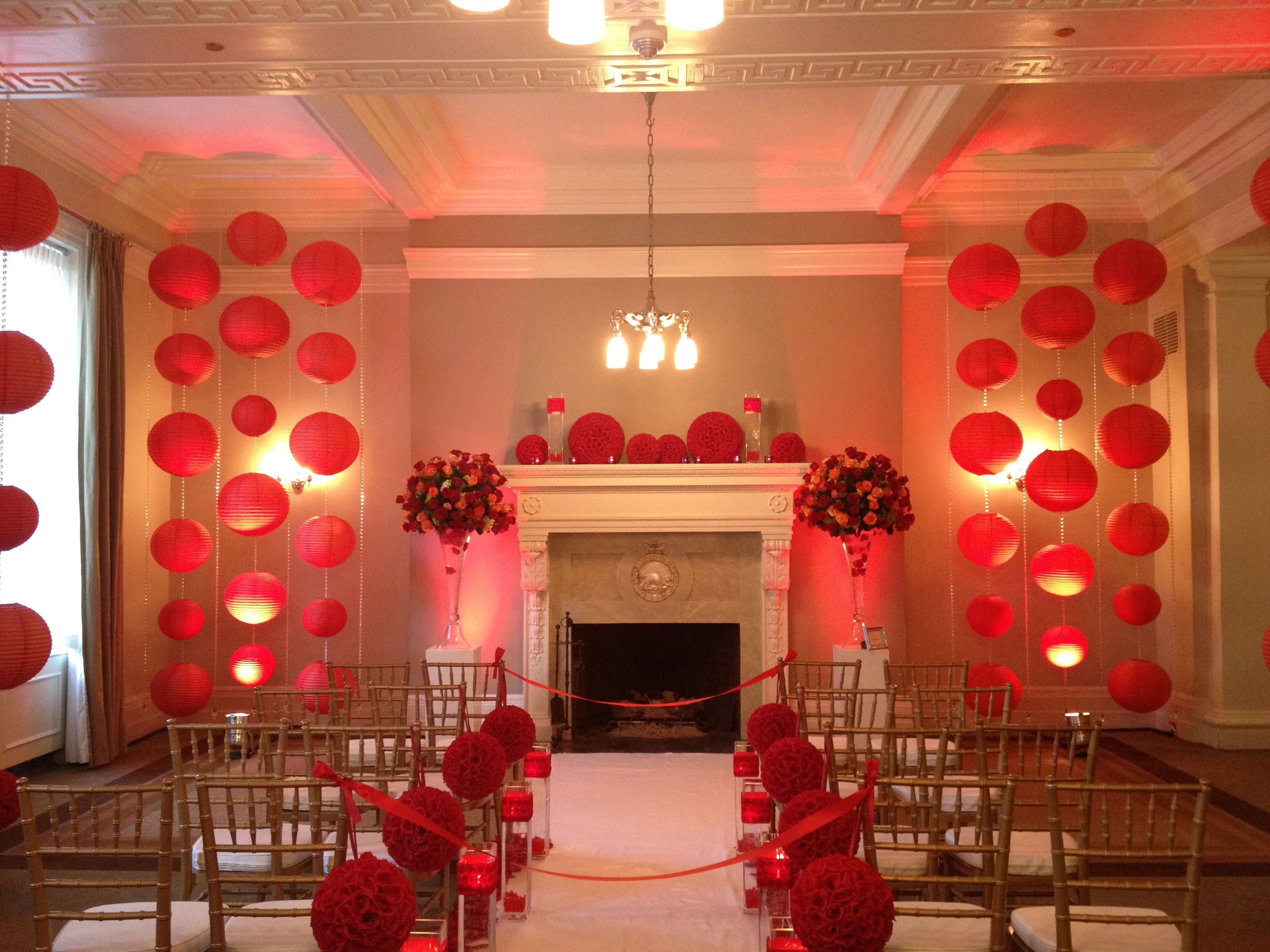 Perfect for valentine day weddings or a modern take on