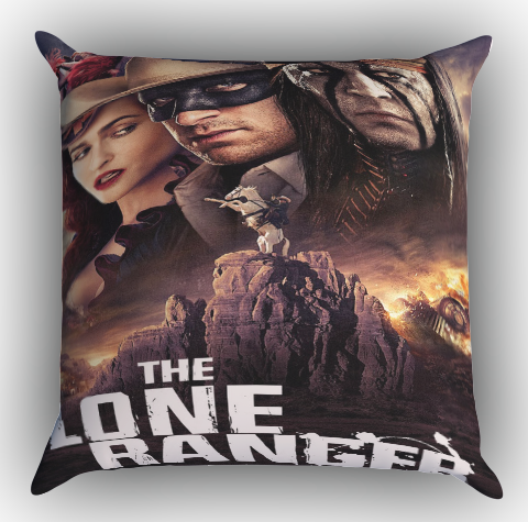 The Lone Ranger Zippered Pillows Covers 16x16, 18x18, 20x20 Inches