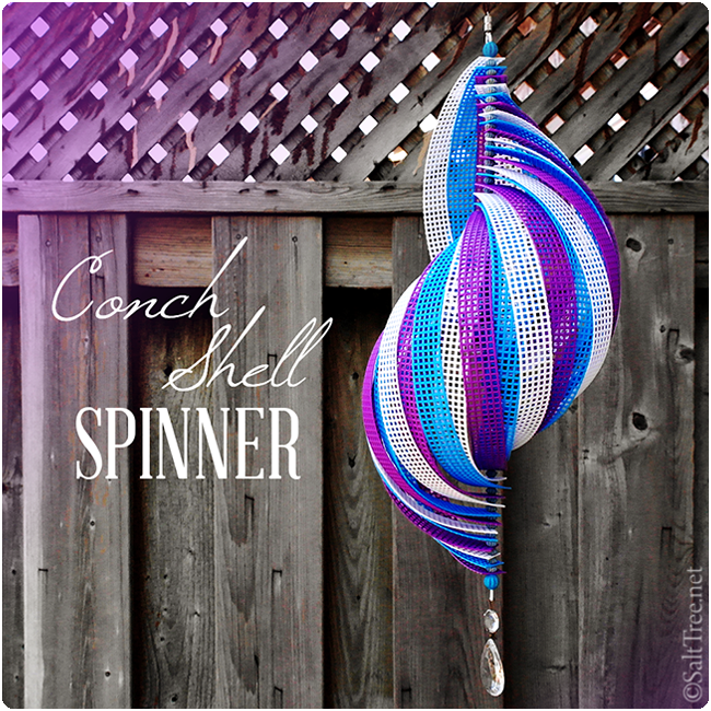 fun in the wind – spinner tutorial.  easy and cheap!