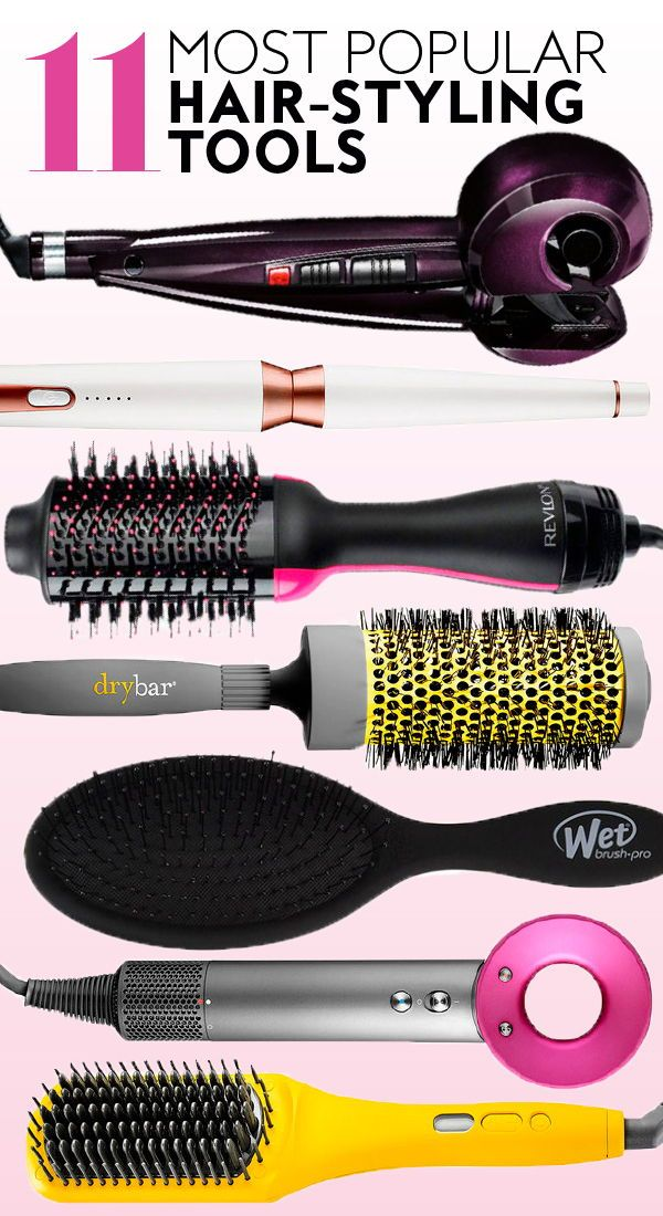 11 Most Popular Hairstyling Tools Hairstyles Hairtools Curlingiron Want Hottools Drybar Blowout Blowdrye Hair Styler Tools Hair Tools Hair Appliances