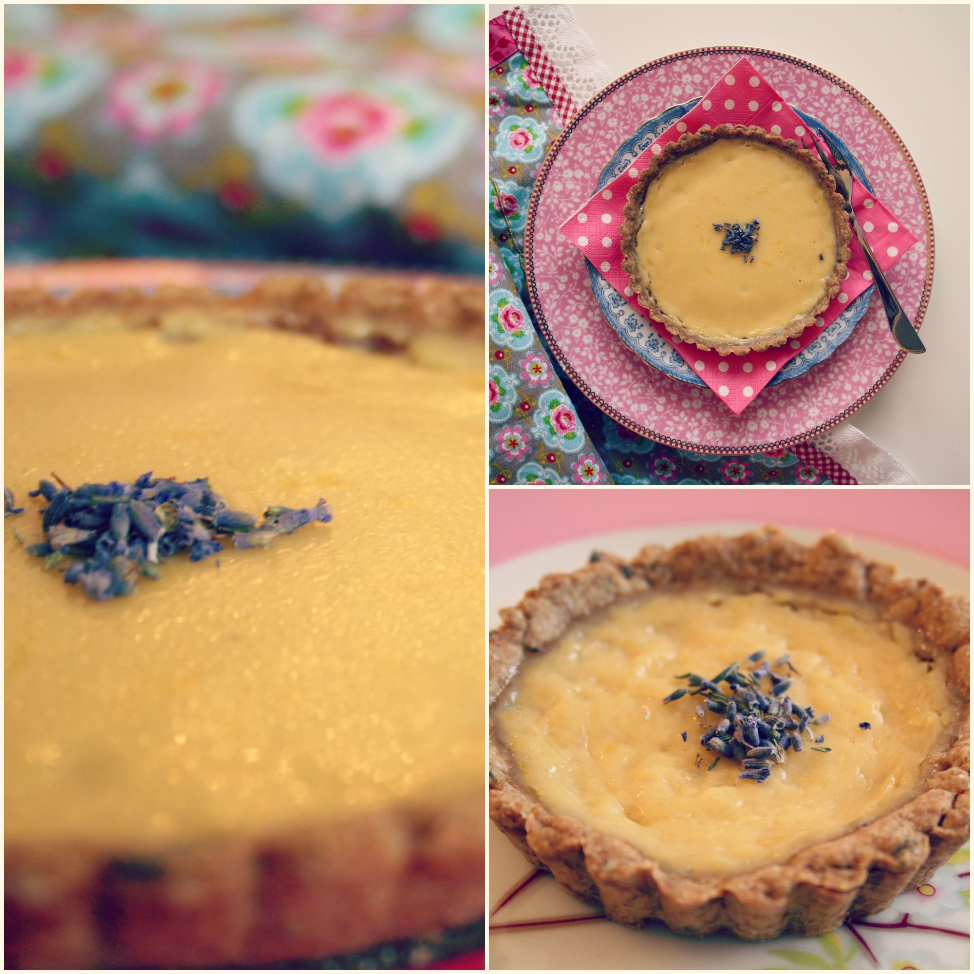 lavender + lemon tart . holy yum . making this!
