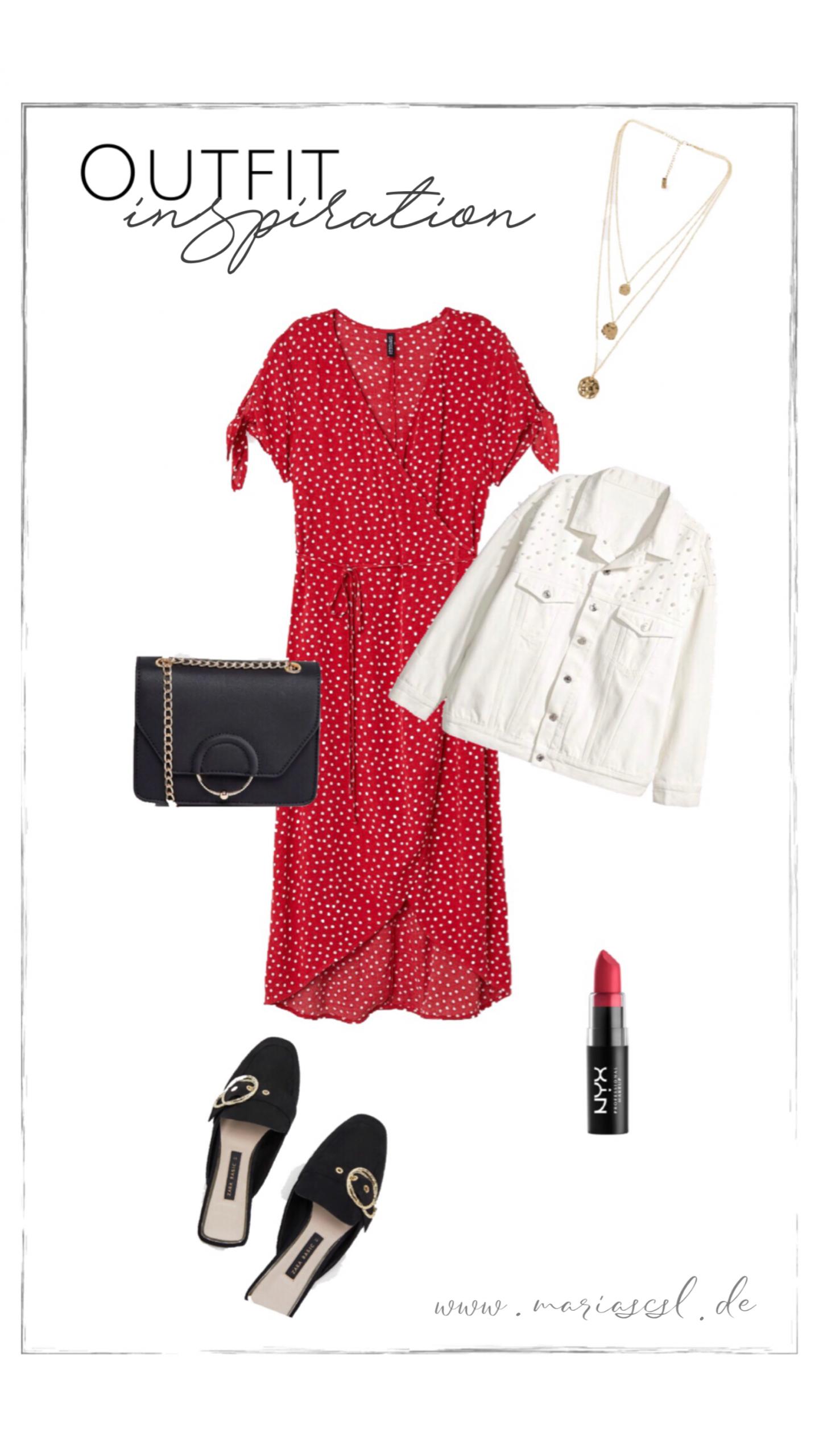 Rotes kleid sommer