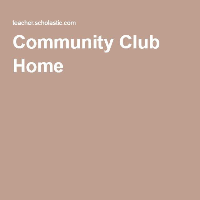 Community Club Home