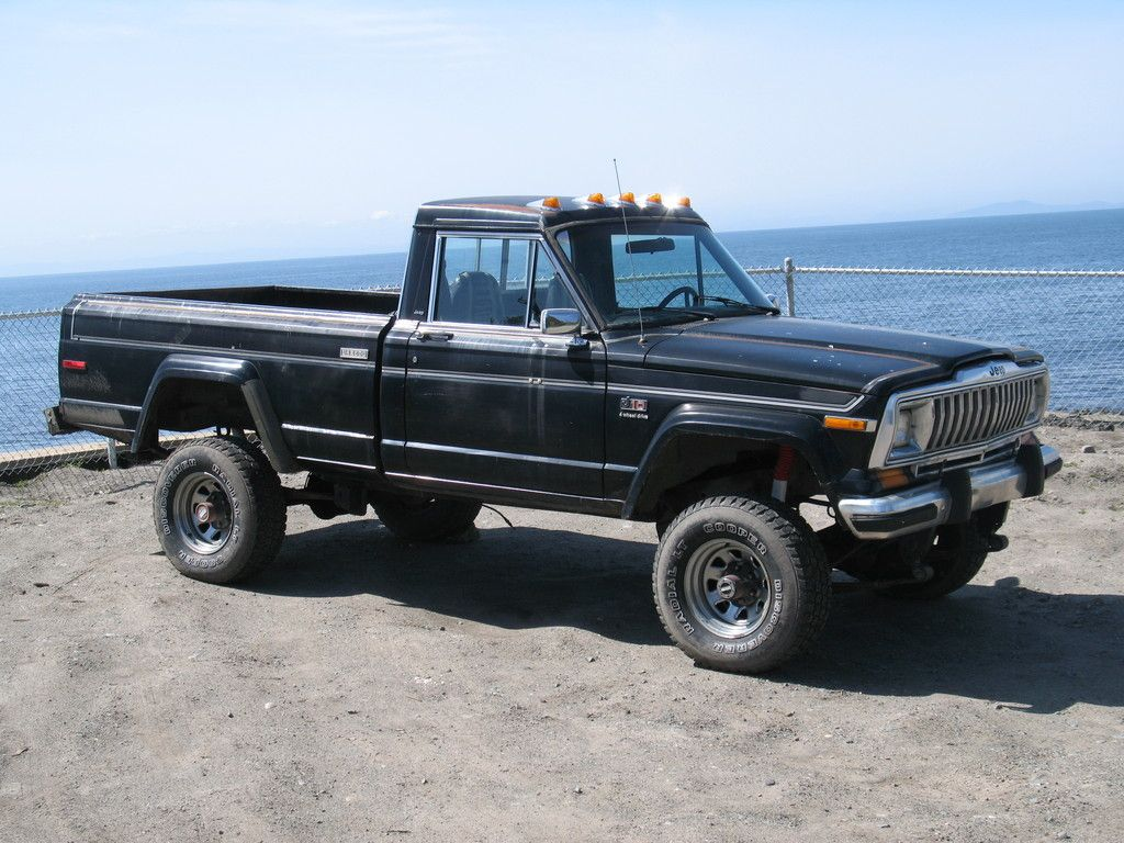 jeep honcho lifted jeep fsj and j series pinterest jeeps and jeep pickup. Black Bedroom Furniture Sets. Home Design Ideas