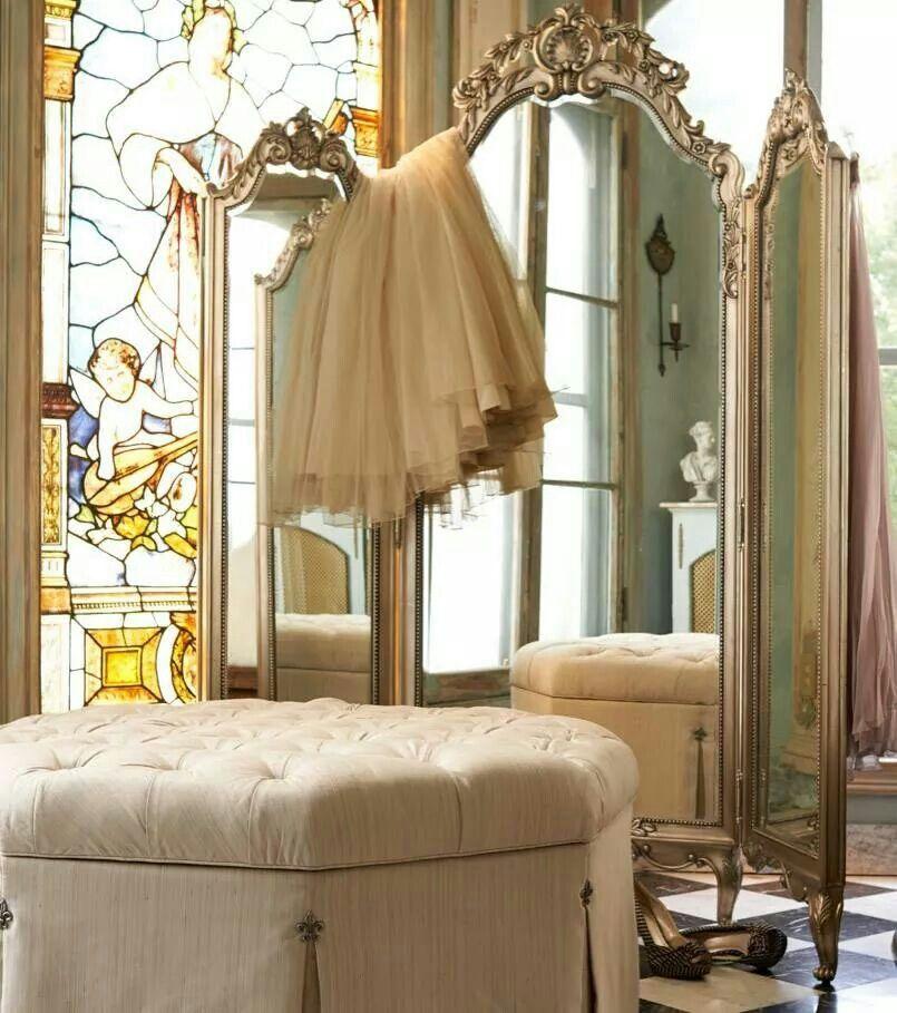 A three way mirror espejos pinterest espejo y for Espejo cuerpo entero vintage