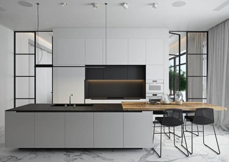 vorh nge f r die k che ein detail das zu hause nicht. Black Bedroom Furniture Sets. Home Design Ideas
