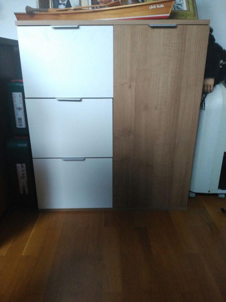 Mueble Auxiliar Muebles Auxiliares Colores Blancos Y Cromos # Venpermuto Muebles