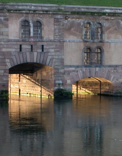Vauban Bridge, Srasbourg, Alsace, France