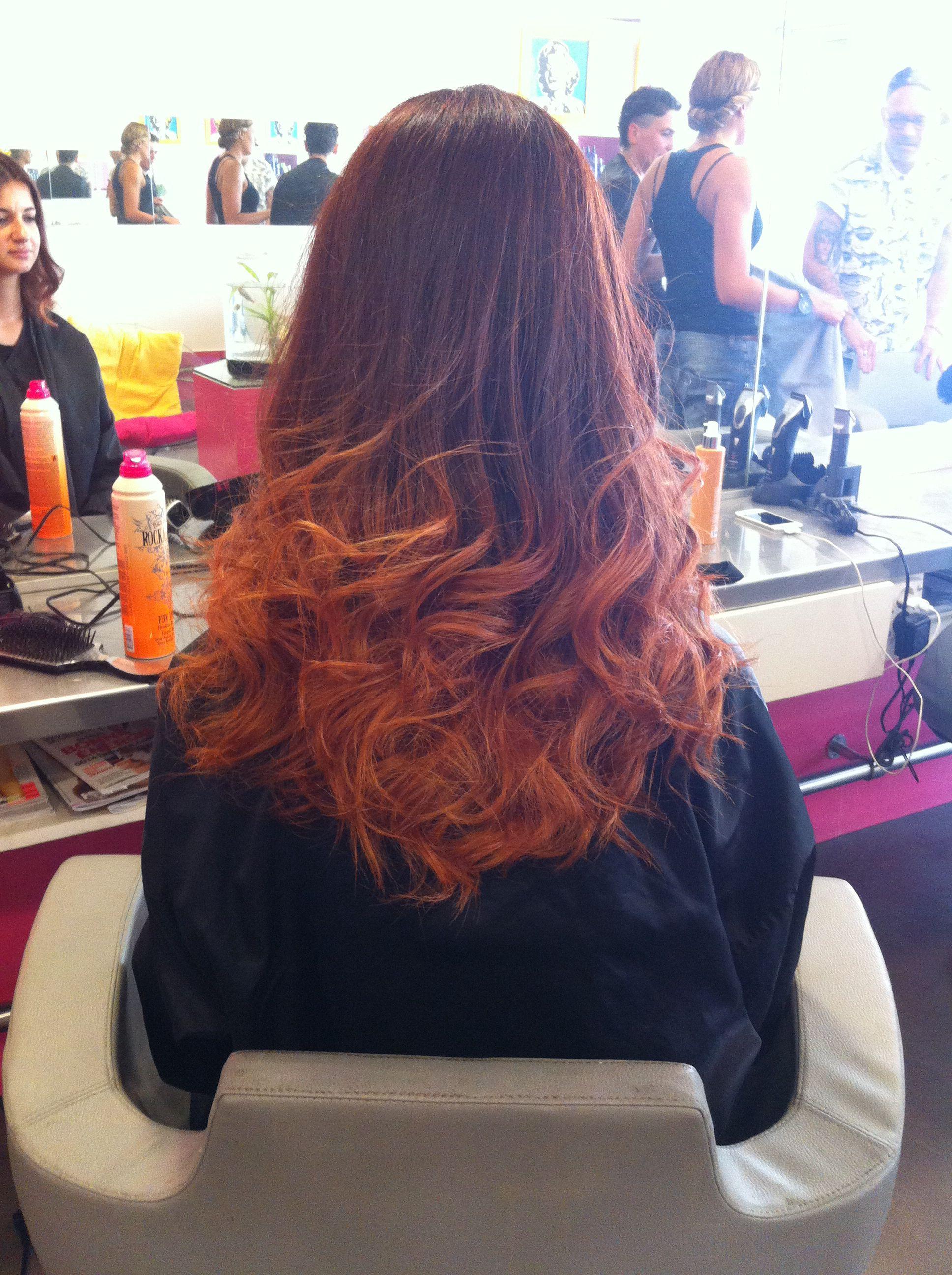 tye dye cuivr rouge ongles et coiffures hair hair styles et locks. Black Bedroom Furniture Sets. Home Design Ideas