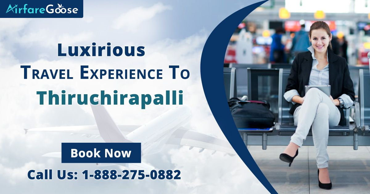 Plan your #Thiruchirapalli tour online today! Get the best travel deals on the flight at #Airfaregoose and enjoy the luxurious travel experience.   For more information, call us at -1-888-275-0882 (Toll-Free). Or, click the link in bio @airfare_goose.  #CheapFlightDeals #trichy #tamilnadu #FlightstoIndia #USAtoIndiaFlights #CanadatoIndiaFlights #FlightDeals #trichylife #flightbookingonline