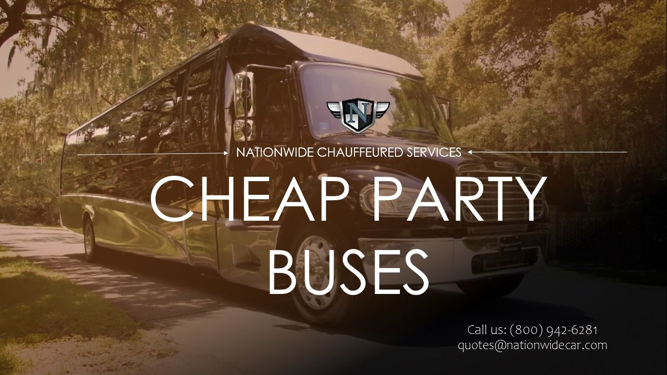 Looking for the Best and Cheap Party Bus, Party Bus Rental