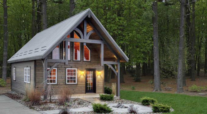 Timber lodge tiny living pinterest tiny for 24x24 cabin