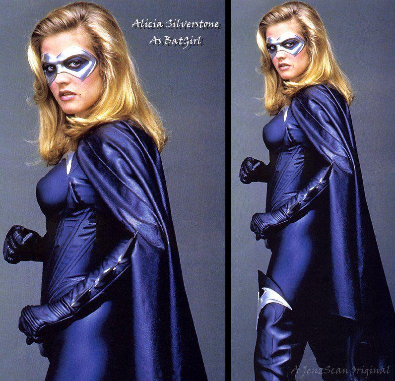 As-2108 - Alicia Silverstone;Sexy Batgirl;