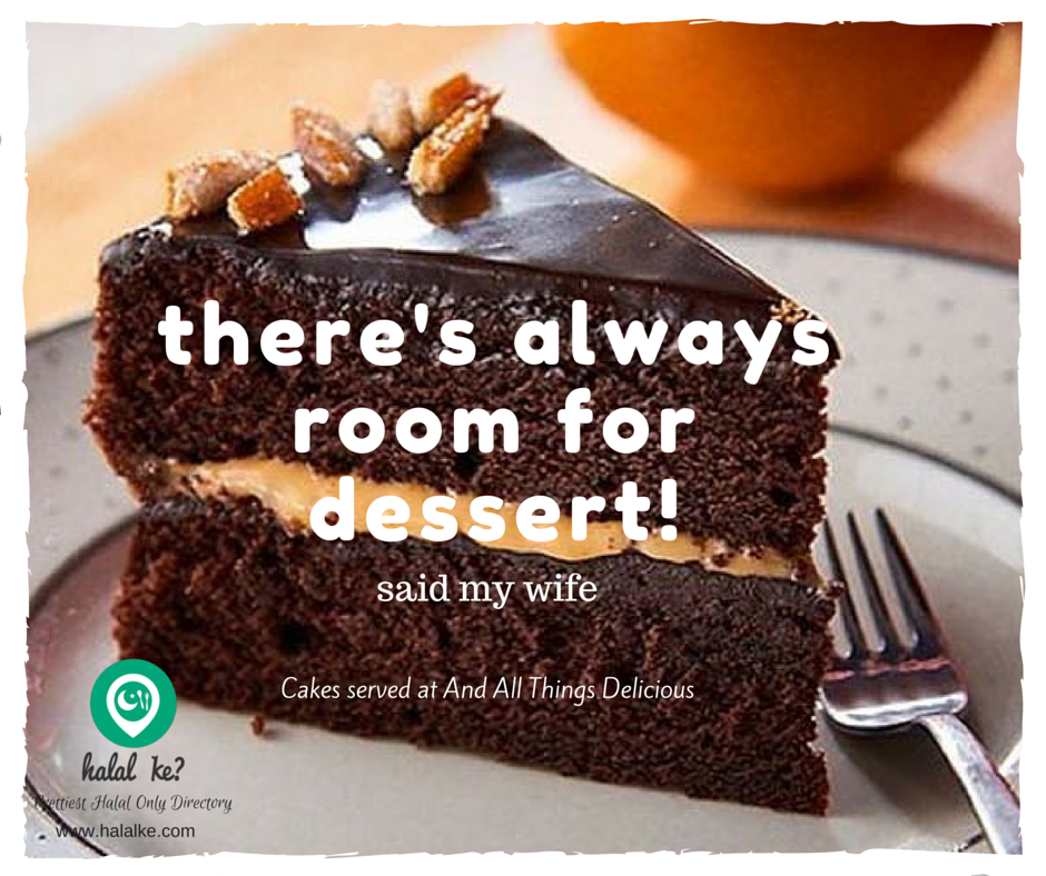 Try Delicious Cakes At And All Things Delicious Cafe Singapore Halalke Com Cake Servings Yummy Cakes Delicious