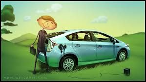 The Prius Plugin Cartoon Prius Cartoon Visual Development