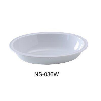 Yancomelamine Nessico 36 Oz Oval Melamine Salad Bowl Colour White In 2020 Dessert Bowls Pasta Bowl Set Salad Bowls Set