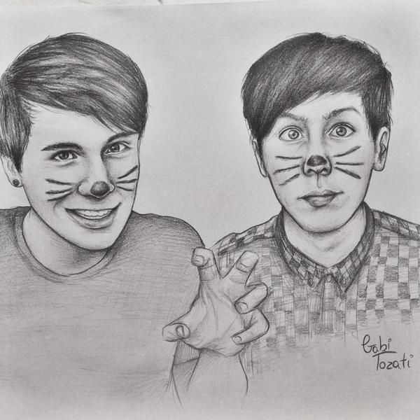 Dan And Phil Dan And Phil Fanart Dan And Phil Dan And Phill