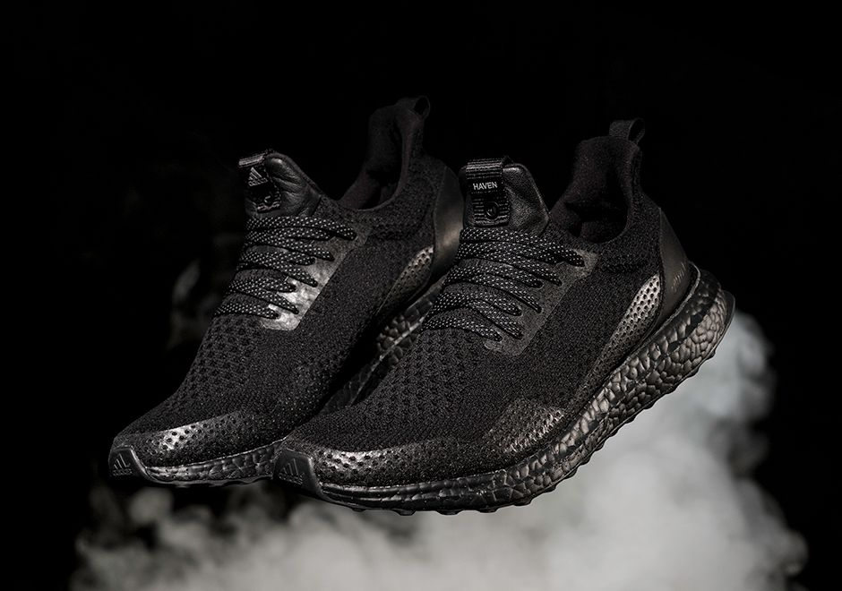 Haven adidas Ultra Boost Triple Black Release Date. The Haven x adidas  Ultra Boost Triple Black releases on April to Haven, then April globally.