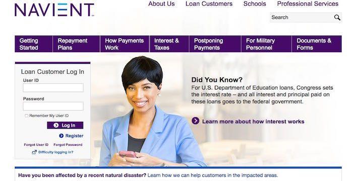 Navient Login Navient Com Student Loan Payment Student Loan Payment Paying Bills Student Loans