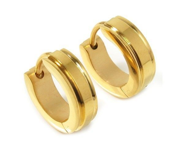 Mens Gold Earrings Designs Earring For Man Price Studs Online India Men S Single Gol