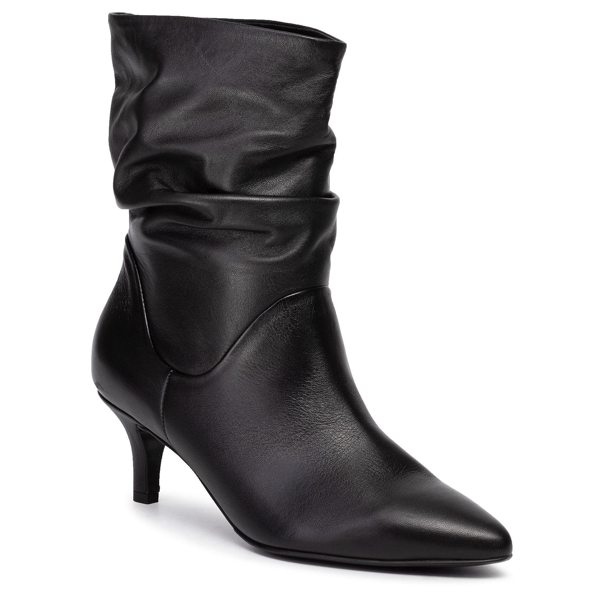 Botki Gino Rossi Gino Rossi 325 780 Czarny Heels Boots Stiletto Boot