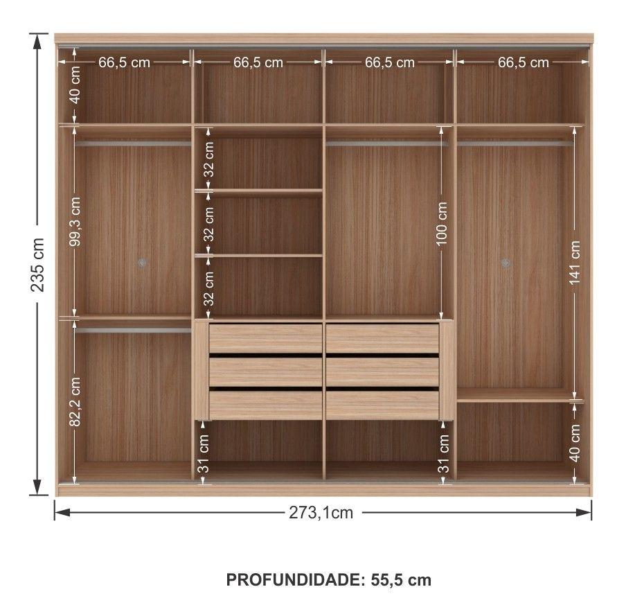Interior armario 4 puertas casa nueva en 2019 for Armarios altos para dormitorio