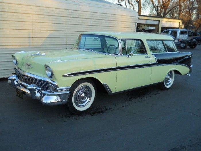 Hemmings Finds Of The Day 1956 Chevrolet Bel Air A Chevrolet Bel Air Classic Chevrolet Station Wagon