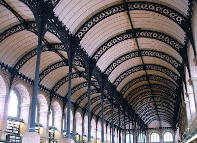 Bibliothèque Sainte Genevieve, Paris