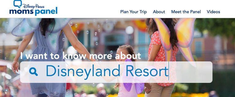 Mom's Panel Monday: Planning a trip to Disneyland Resort?