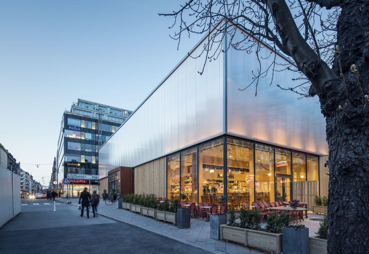 Gallery of stermalms temporary market hall tengbom 6 hall facade design solutioingenieria Choice Image