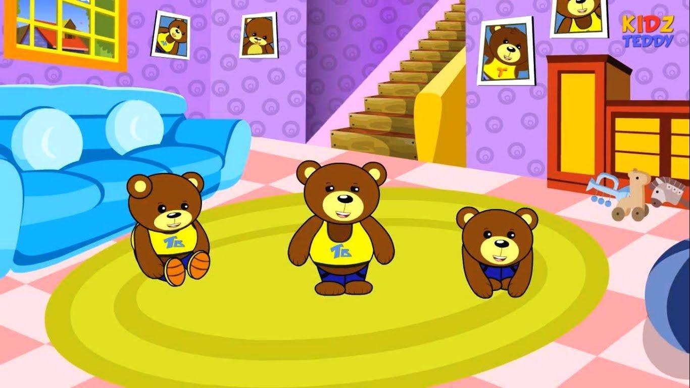 Teddy Bear, Teddy Bear Turn Around - English Nursery Rhymes With ...