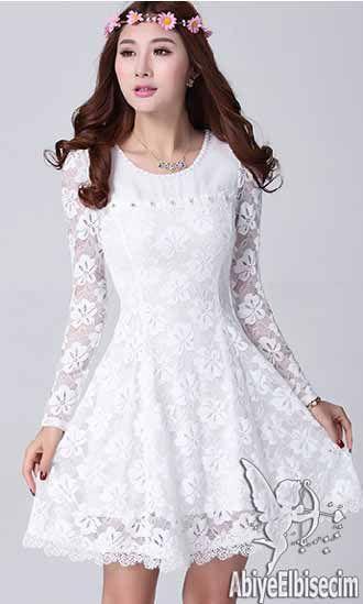 Bayan Abiye Elbise Dantel Tasarim Uzun Kolllu Abiye Elbise Kisa Abiyeler Uzun Abiye Online Abiye Ucuz Abiye Elbise Dantel Elbiseler