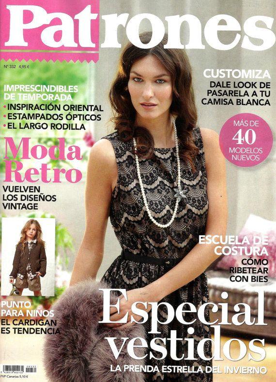 PATRONES magazine 29 Costura fácil (easy sewing) | Pinterest ...